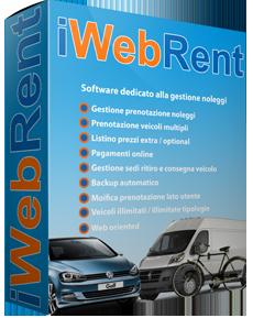 Software gestione Autonoleggio