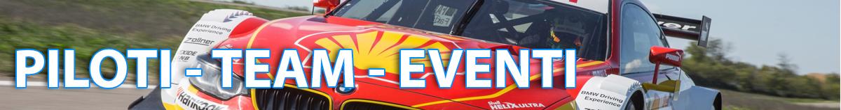 Siti web per Piloti - Team - Organizzatori eventi