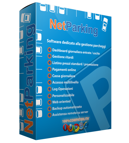 software per la gestione di parcheggi
